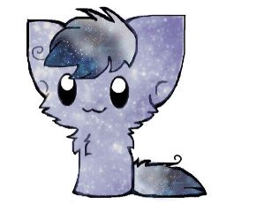 freetoedit galaxy stars cat