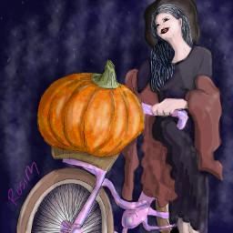 wdppumpkin helloween pumpkin digitaldrawing drawing