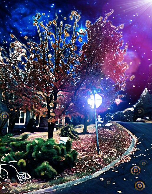 #fall #space #filter #freetoedit #aesthetic another angle of my tree I had fun with, you gotta love this app.