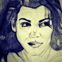 drawing pencilart womanportrait november2016 picsarteffects