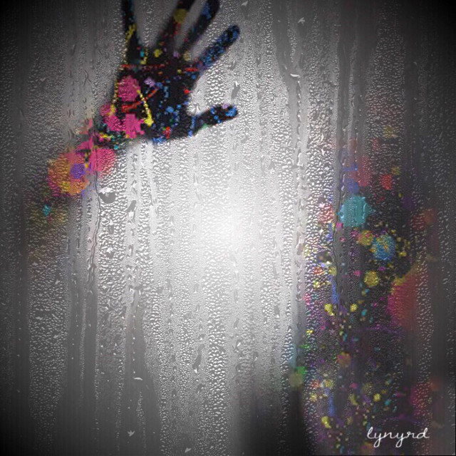 #mask#rain#shadow