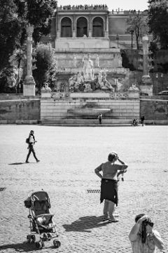 rome blackandwhite street monochrome streetphotography